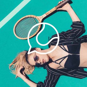 Tennis by Sergey Demushkin from the Noun Project, Photo by Noah Buscher on Unsplash