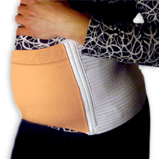 "Postpartum Maternity Belt | 9"" Tall Microfiber Compression Panel"