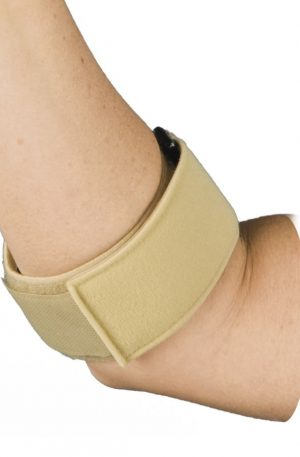 Counterforce Brace for Tennis Elbow with Adjustable Neoprene Pads