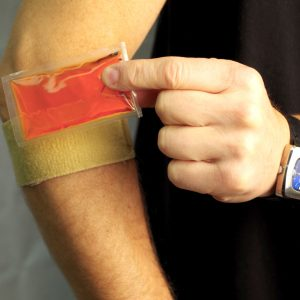 Adjustable Counterforce Brace with Cool Gel Compression Pad for Tennis Elbow