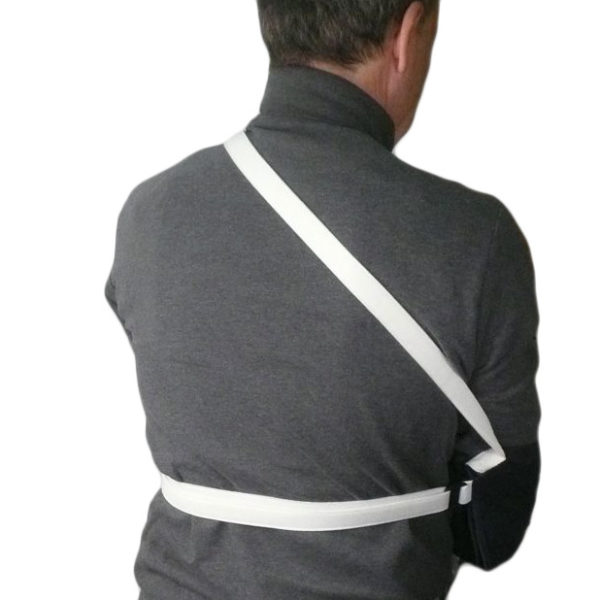 Arm Sling Support   Immobilizer Strap   Velcro Closure