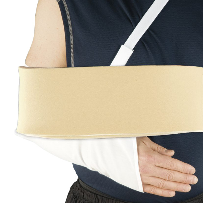Arm Sling Support | Shoulder Immobilizer with Foam Swathe
