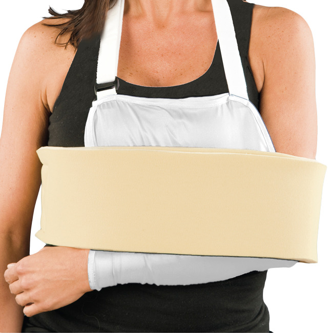 Cradle Arm Sling Shoulder Immobilizer with Foam Swathe