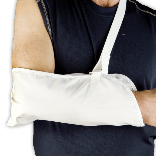 Arm Sling Support | Immobilizer Strap | Velcro Closure