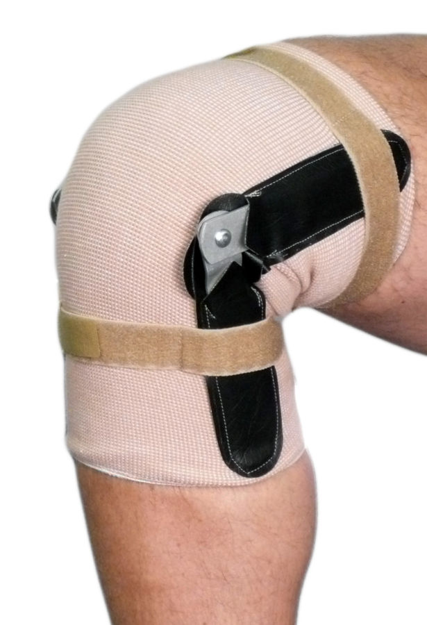 Pull On Knee Brace | Hinged