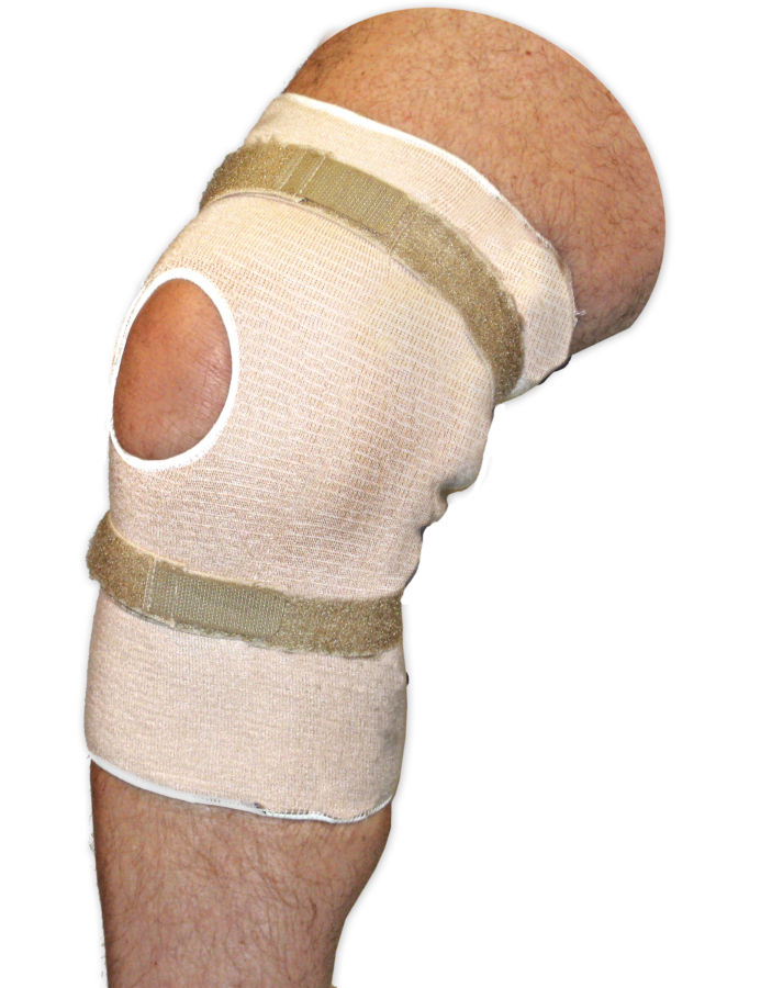Pull On Knee Brace | Open Patella | No Spirals