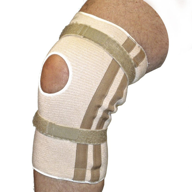 Pull On Knee Brace | Open Patella with Spirals