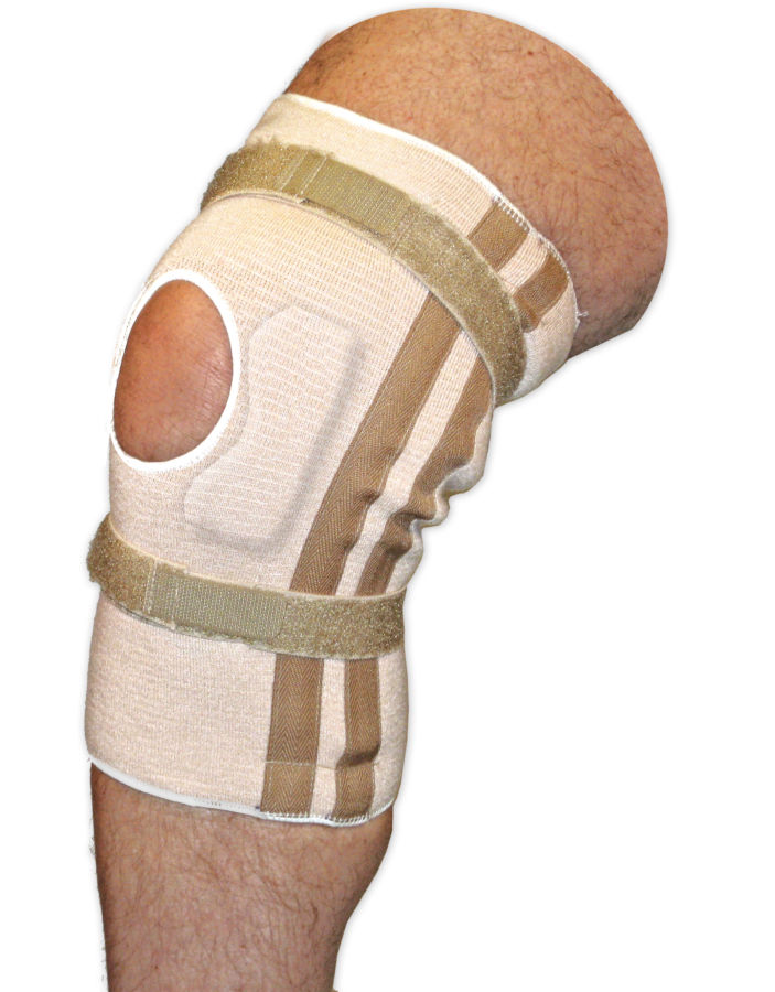 Pull On Knee Brace | Open Patella with Cartilage Pad