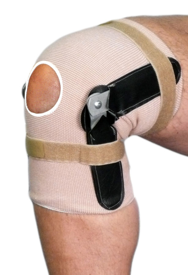 Pull On Knee Brace | Hinged | Open Patella
