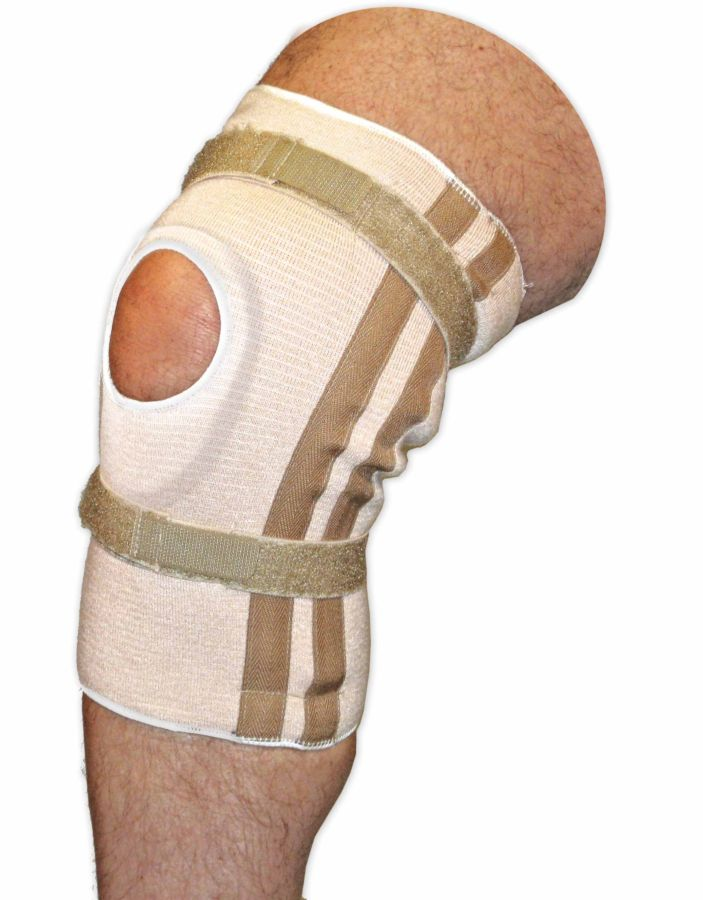 Pull On Knee Brace | Open Patella | Horseshoe Pad