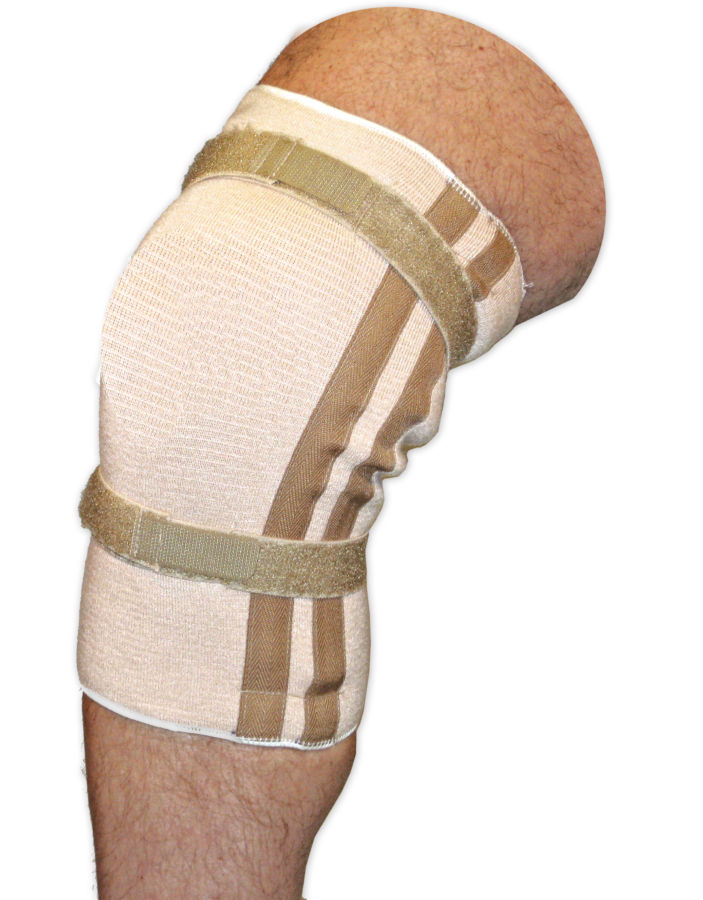 Pull On Knee Brace | Closed Patella with Spirals