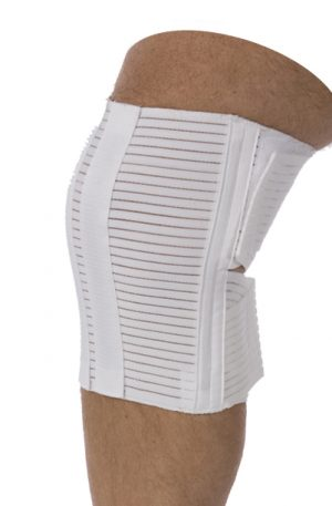 Knee Wrap with Spirals