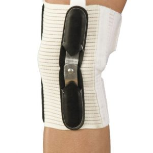 Knee Brace | Hinged | Closed Patella with Cartilage Pad