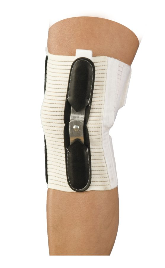 Knee Brace | Hinged | Closed Patella with Spirals