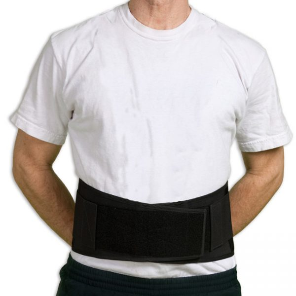 Mesh Lifting Back Brace with Optional Suspenders
