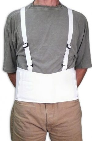 "Mesh Lifting Back Brace | 7"" Tall 