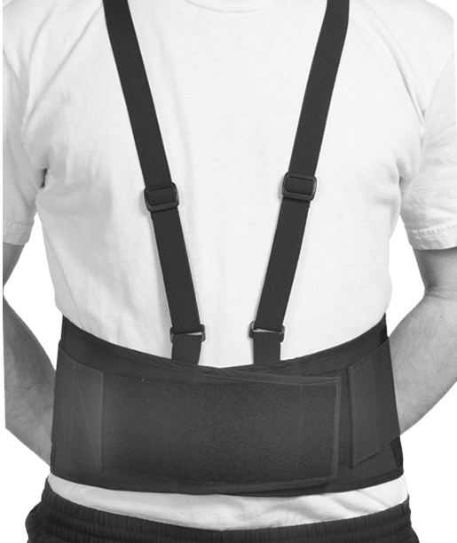 "Naugahyde Back Brace | 7"" Tall 
