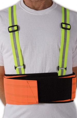 "Ergonomics Lifting Belt | 8.5"" Tall Economy Back Support 
