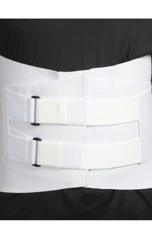 "Velcro LSO Corset with 4 Stays | 9"" Front and 14"" Back"