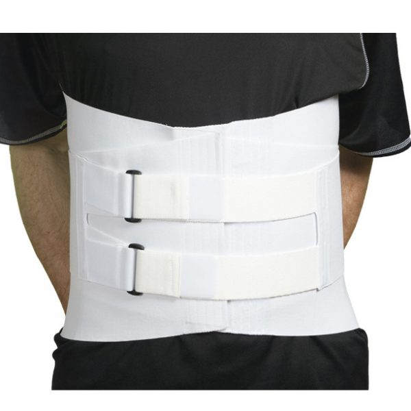 """Velcro LSO Corset with 4 Stays   9"""" Front and 14"""" Back"""